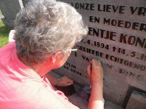 161 HVL begraafplaats 2011 Gre 063