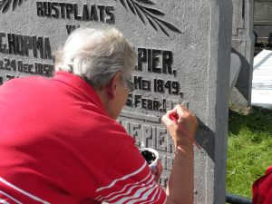 161 HVL begraafplaats 2011 Gre 069